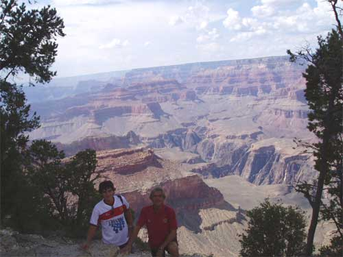 En Borja al gran Canyon USA